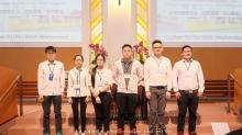 第一排(左起):  陈孟良,刘裔慈,黄以琳,陈 凯,林咸航,黄家祥 陈祯备(缺席)