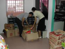 Distributing the Goodies