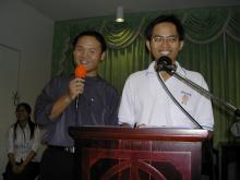 Speech by President of Students' Body