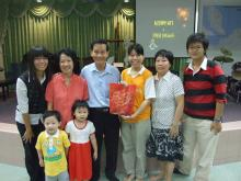 Rev Phillip Ang's Family Group