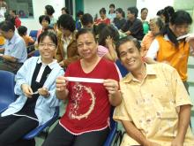 Tiong Hie Yii & Parents