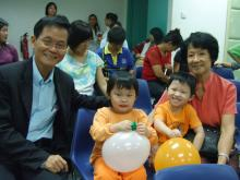 Rev Philip Ang & Family
