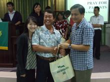 Yong Shin Leei & Father