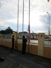 Raising the Flags | 升旗仪式