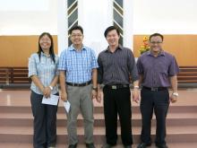 10th Batch M. Min. Students